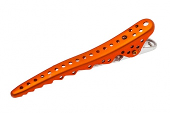 комплект зажимов shark clip (2 штуки) ys-shark clip orange met  в магазине Denirashop.ru